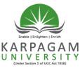 Karpagam University, Coimbatore, Tamil Nadu
