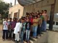 Students with Chairman - Smita Patil Public School