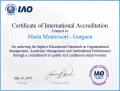 Maria Montessori Certification