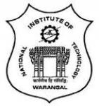 National Institute of Technology - NIT Warangal, Warangal, Telangana